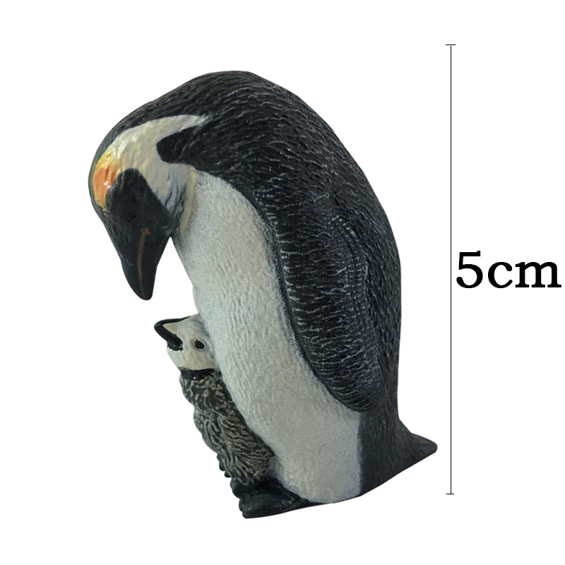 3 styles Action & Toy Figures Penguin Marine Animal Toys PVC Sea Life Penguins Baby Dolls Children For sale Kid Gift F2