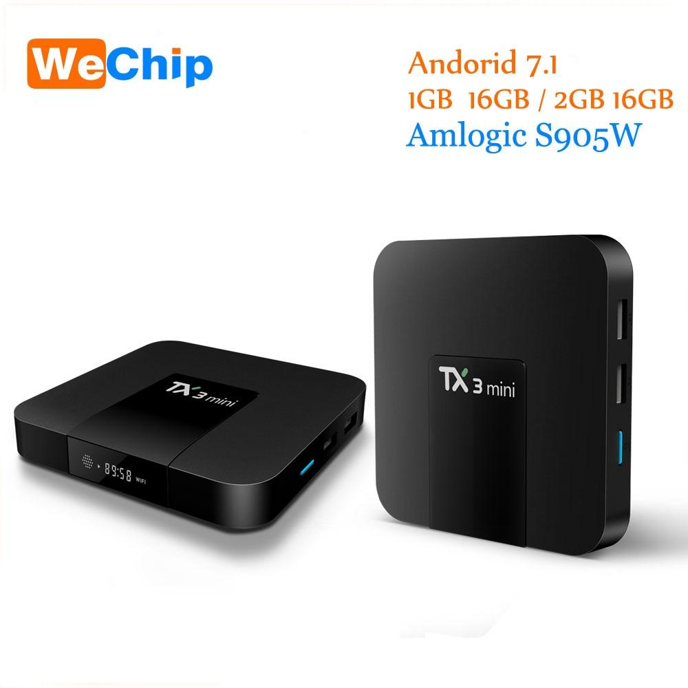 Set-top Boxen Tx3 Mini Smart Tv Box 1 Gb/8 Gb 2 Gb/16 Gb Tx3 Mini Android Android 7.12 Neueste Version Amlogic S905w Bis Zu 2,0 Ghz Tx3mini Tv Box Unterhaltungselektronik