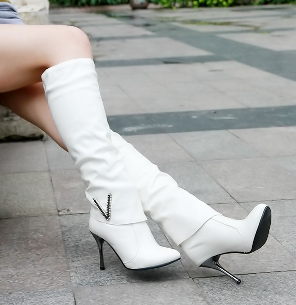 2015 spring women spring winter boots female knee boots high-heeled Knight boot thin heel girl party club shoes plus size 42 43 цены онлайн