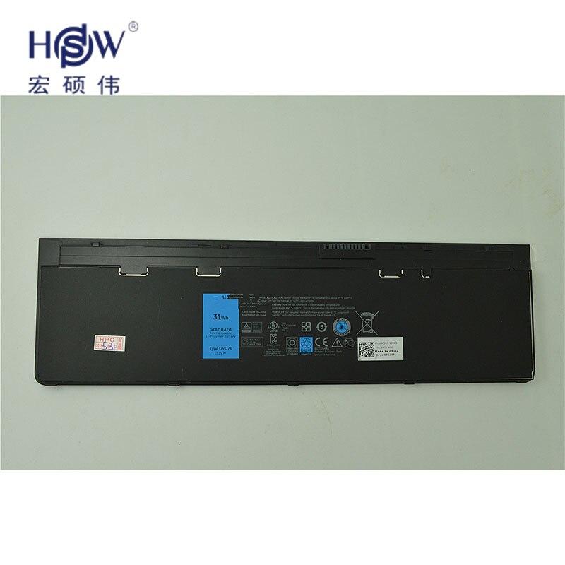 11.1V 31WH genius original laptop battery FOR DELL Latitude 12 7000-E7240 Latitude E7240  Latitude E7250 Latitude E7440  bateria dell latitude e7240