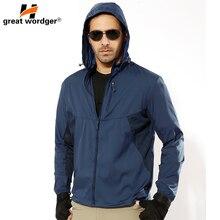 outdoor elastic mens breathable sun block clothes summer UV-proof coat tactical skin