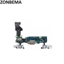 ZONBEMA 10pcs Original USB Charging Port Charger Dock Connector Flex cable For Samsung Galaxy S5 Neo G903F