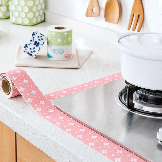 2.5m Wall Corner Joint Sticker Tape Waterproof Mould Proof Sealing Sticker Tape Sink Basin Edge Trim Kitchen Accessories