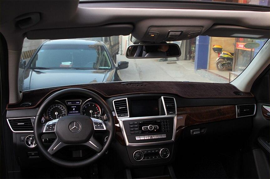 Pour garniture intérieure pour Mercedes Benz GLE W166 GLE C292 classe de coupe GLS W166 classe éviter les accessoires de tapis de lumière