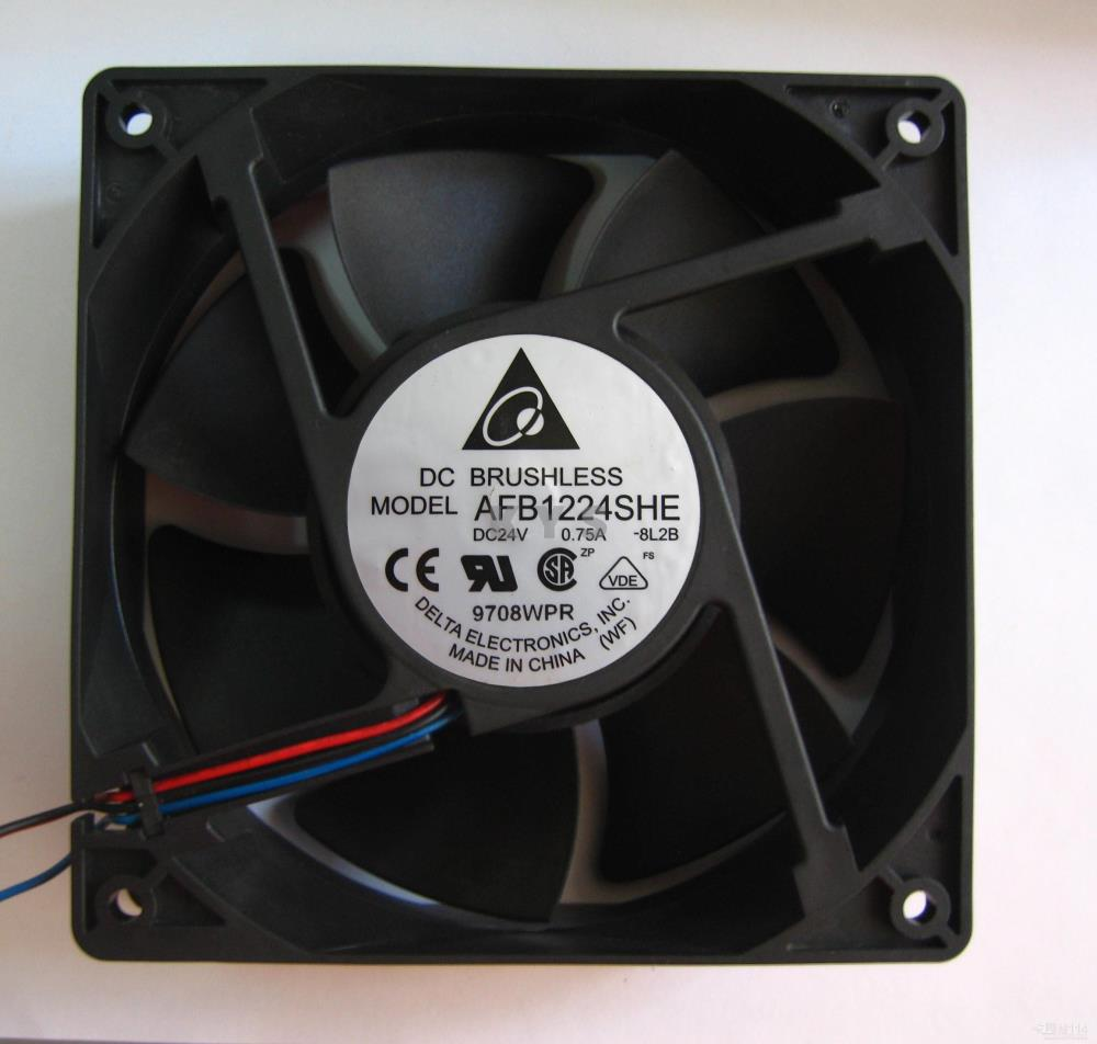 Delta AFB1224SHE 1238 12cm Fan 24v 0.75A delta