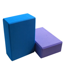 Yoga Brick EVA Blocks Foam Yoga Block Aerobic Pilates Foam Exercise Fitness Health Gym Sport Tool 3 Colors Free Shipping