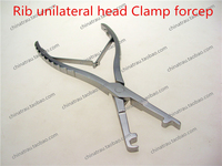 medical orthopedic instrument Rib unilateral head Clamp forcep sternum Rib bone plate unilateral bender Bone plate bending plier