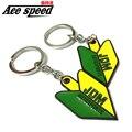 Ace speed-1 pcs metal car keychain For Honda fans JDM style Key chain Auto key ring