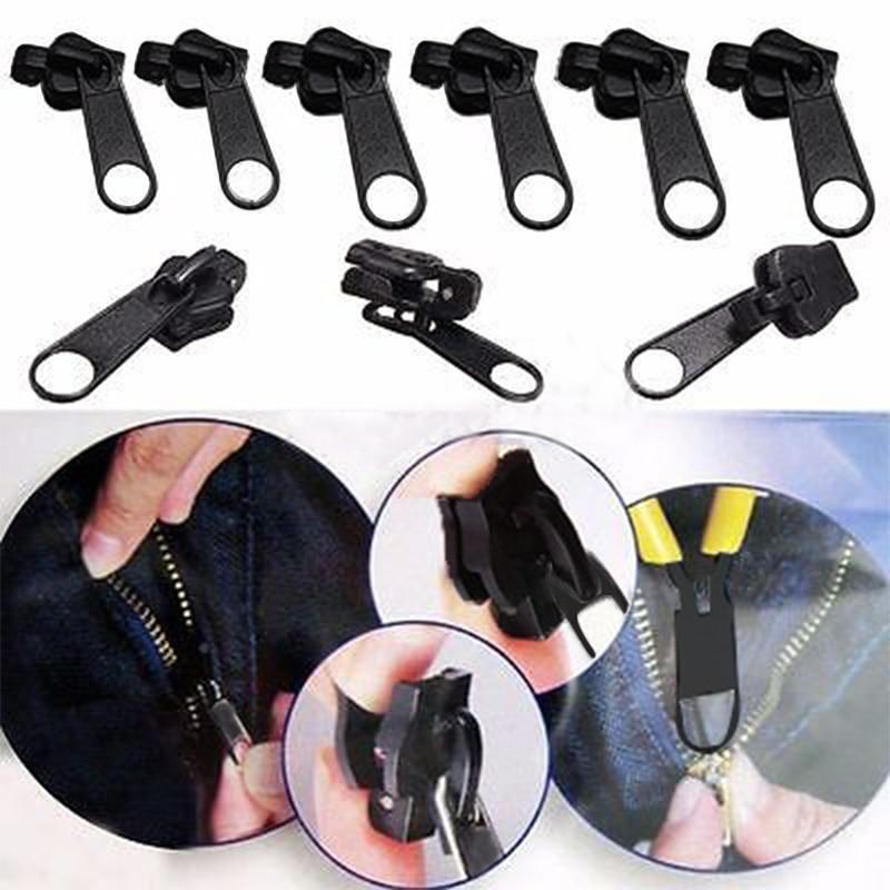 JX-LCLYL 6pcs Fix A Zipper Zip Slider Replacement Fixer Clothes Bags Instant Repair Tool