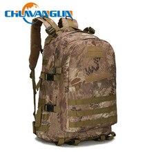 Chuwanglin moda 3P kamuflaż wielofunkcyjny 40L wodoodporny męski plecak tornister męska torba podróżna mężczyźni plecaki E411