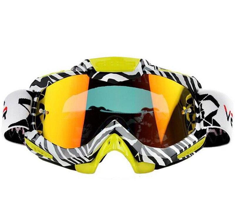 Новый мотокросс Очки внедорожных Байк ATV DH MX МОТОЦИКЛ Очки Гонки очки Лыжный Спорт мотокросса Сменный объектив