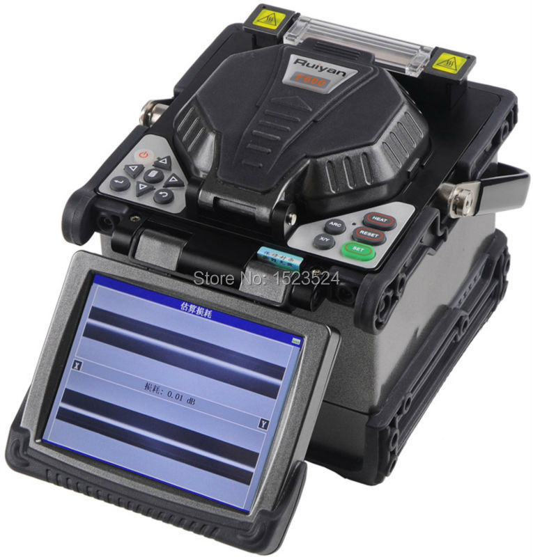 Original Ruiyan RY-F600 Fiber Optic Splicing Machine Fusion Splicer Fusionadora Fibra Optica