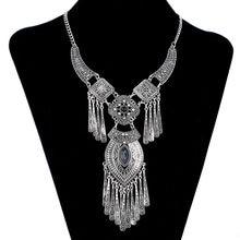 0241abc89afb LOVBEAFAS 2019 moda Bohemia Collar gargantilla Collar Vintage borla  declaración Maxi largo Collar de las mujeres Collier Femme d.