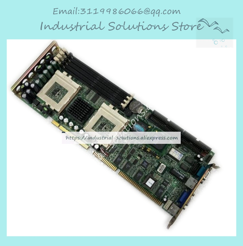 PCA-6276 Rev.B1 double CPU control is the motherboard 100% Tested Good Quality pca 6003 pca 6003ve a2 industrial motherboard tested good board with fan cpu and ram
