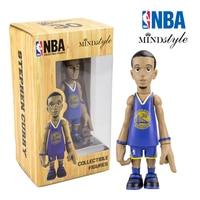 16 см NBA Golden State Warriors All-Star basketballplayer Стивен Карри фигурку Q версия модели для рождественский подарок