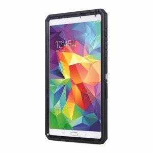 Image 2 - Pour Samsung Galaxy Tab S 8.4 pouces coque de protection coque de protection Joylink intégré housse de protection décran noir