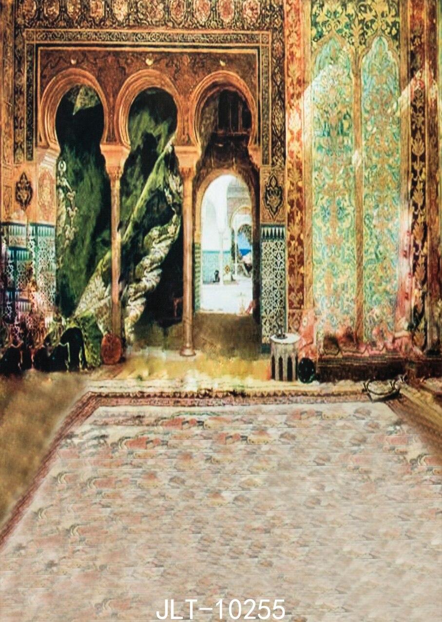 Image architecturale musulmane arrière-plan photographie-studio-toile de fond studio photo vinyle arrière-plans pour studio photo 3 M x 6 M