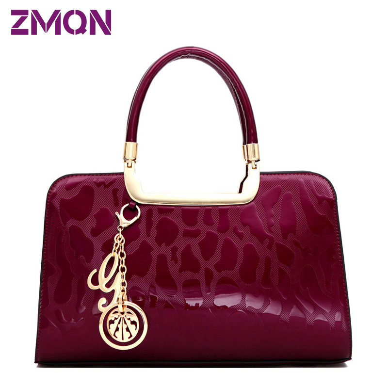 100% Buyer Praise Women Fashion Bolsos designer Bag Of Brand Famous Designer Handbags High Quality Patent Leather Hard Tote Bag