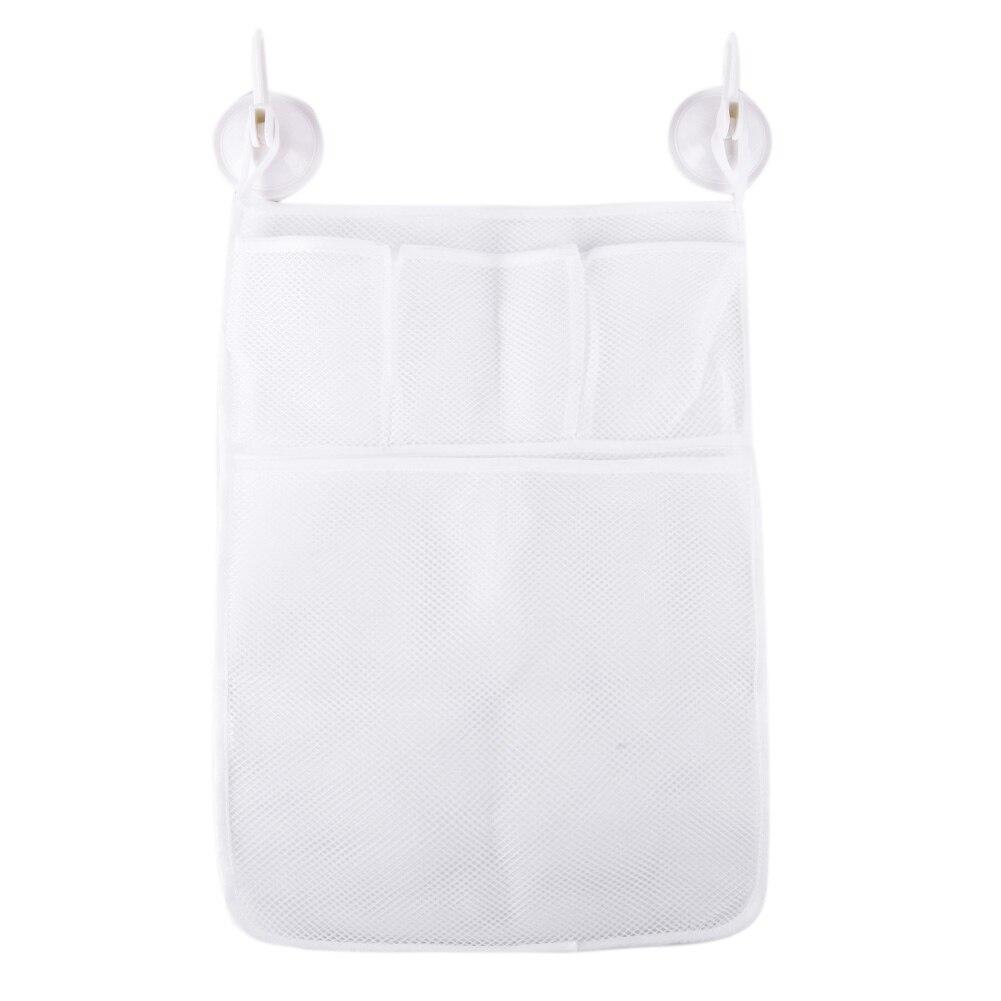 33x45cm Bathroom Mesh Net Storage Bag Baby Bath Bathtub Toy Bath Storage Bags Organizer Holder For Home