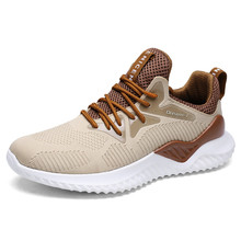 2018 Autumn Men's Sports Shoes Outdoor Fitness Running Shoes Mesh Shoes Lightweight Comfortable Wear Large Size 36-46 Sneakers
