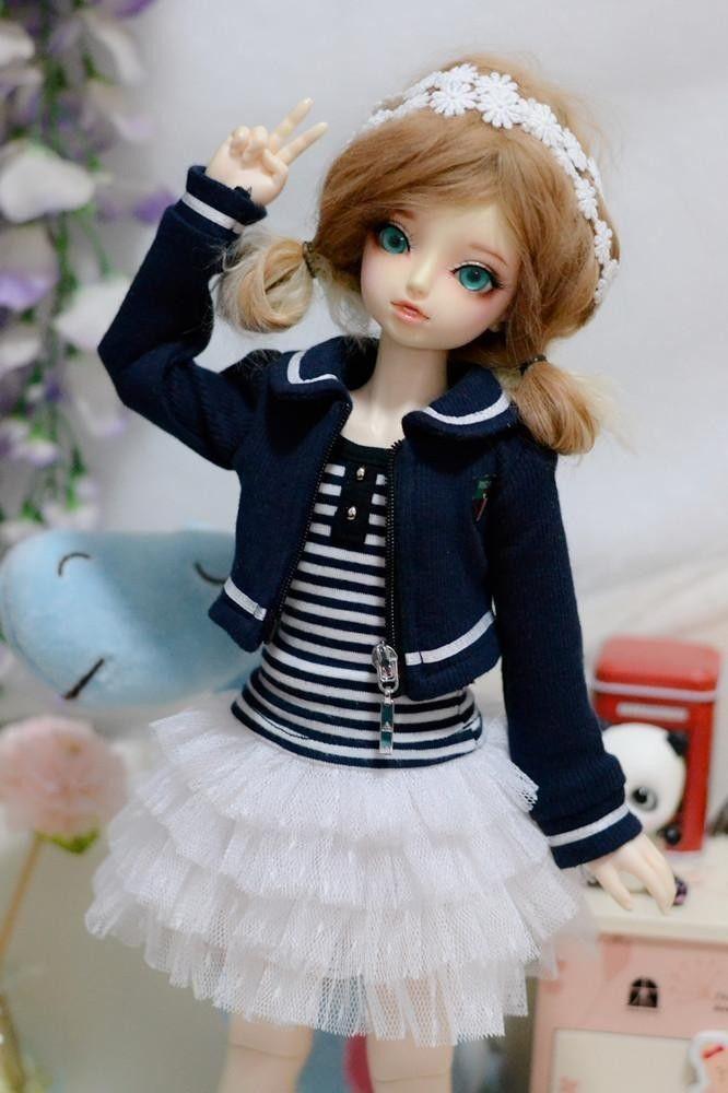 wamami 249 Campus Dark Blue Coat T Shirt Dress Suit 1 3 SD DZ DOD