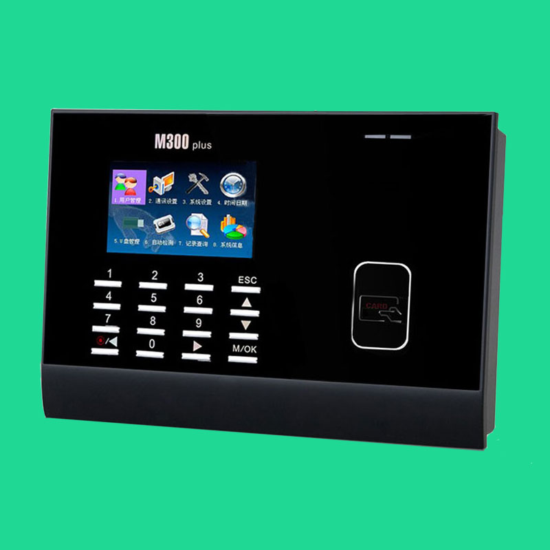 все цены на TCP/IP 125khz proximity rfid card Card Time Attendance Punch Card Time Clock with Free Software ZK M300Plus
