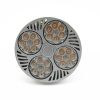 10pcs 35W PAR30 Spotlight2600LM E27 Bulb White OSRAM Chip Cool Fan Active Cooling Par30 Light Bulb E27 Spotlight