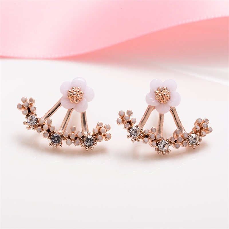 HTB101hLXbH1gK0jSZFwq6A7aXXaw - New Crystal Flower Drop Earrings for Women Fashion Jewelry Gold Silver ColorRhinestones Earrings Gift for Party Best Friend