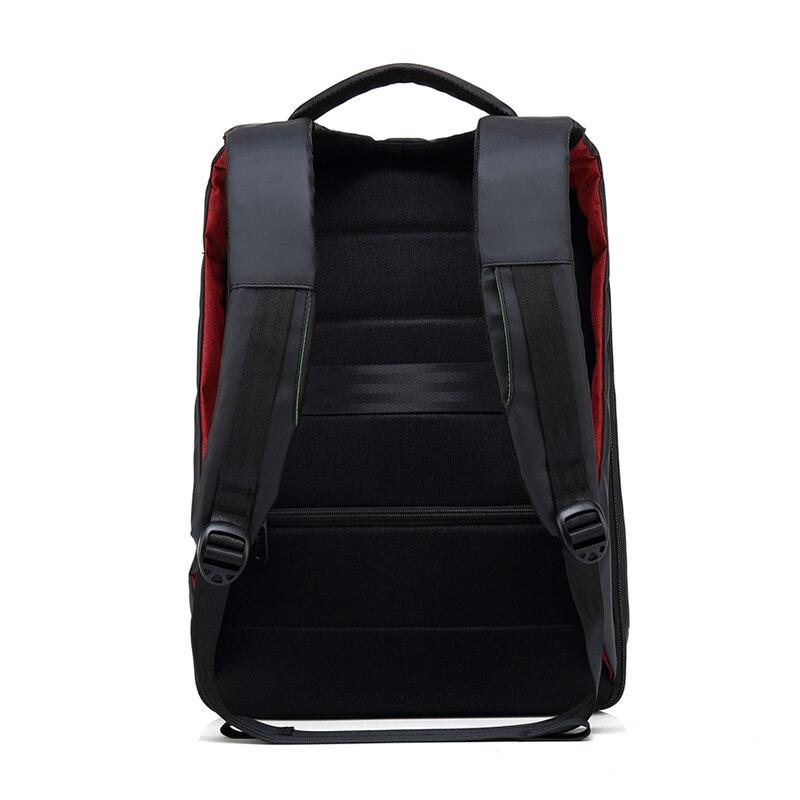 Купить с кэшбэком BAIBU USB Charging Headphone Interface Travel Backpack Anti-theft Coded Lock Laptop Backpack Unisex Headphone hole schoolbag