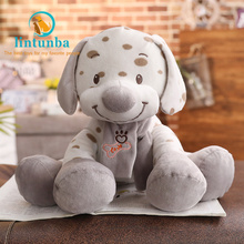 New Kawaii dalmatian plush toy comforting baby cute dog stuffed animal doll for children elf on the shelf  halloween decoration