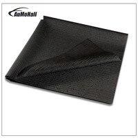 100*90 CM Car Anti-Slip Mat Traço Anti Skid Mat Telefone Grade Removível Almofada Pegajosa Chave Não Slip Mat painel de PVC na Cor Preta