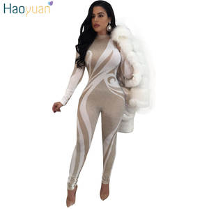 777af5a9ac8 HAOYUAN Sexy Overalls Body Rompers Womens Jumpsuit