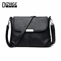 DIZHIGE Brand 2017 High Quality Women Messenger Bags Shoulder Luxury Handbags Women Bags Designer Leather Crossbody