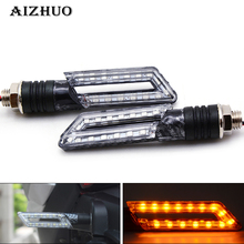 Universal Motorcycle Turn Signal Light Indicators Light For kawasaki z650 zx6r z750 z900