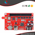 ZH-W5 USB & WIFI Controlador de LED 1280*128 Pixels Programável LEVOU Controlador de Sinal