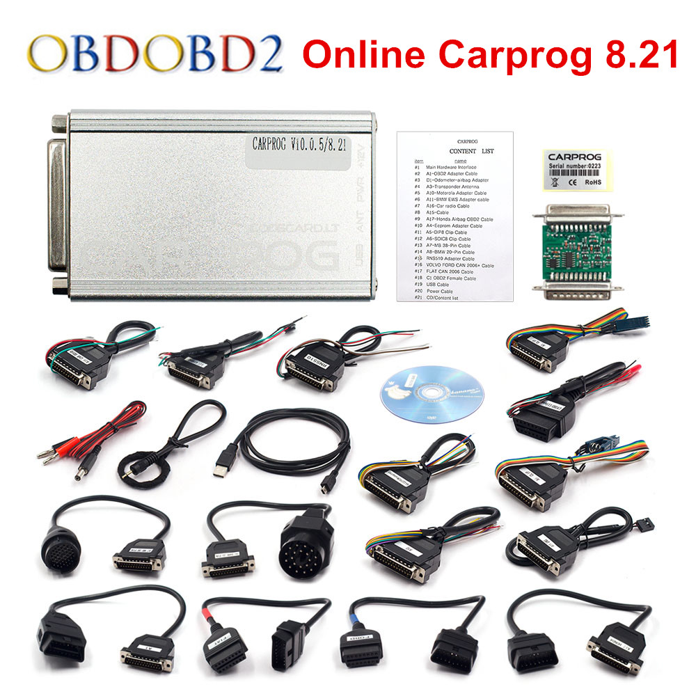 Newest Carprog 8.21 with Keygen For Online Version Carprog V8.21 Key Generator Activate Car Prog 8.21 Software Free Shipping free shipping carprog 9 31 ecu chip tunning car prog v9 31 carprog full newest version with all 21 items adapters