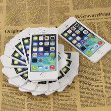 XueSheng 1PC Note Paper Cell Phone Shaped Memo Pad Gift Office Supplies Student