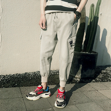 New Spring Korean Trousers, Small Foot Loose Sports Leisure Pants, 2019