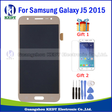 Оценка aaa для samsung galaxy j5 j500 2015 жк-дисплей сенсорный экран digitizer ассамблея золото запасные части 20pin бесплатные инструменты,