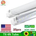 Led Tube T8 1200mm 22W 18W 4FT Integrated Led Tube T8 22W 18W LED Fluorescent Lamp G13 4 foot Tubo T8 Led Tube 1200mm 22W 18W