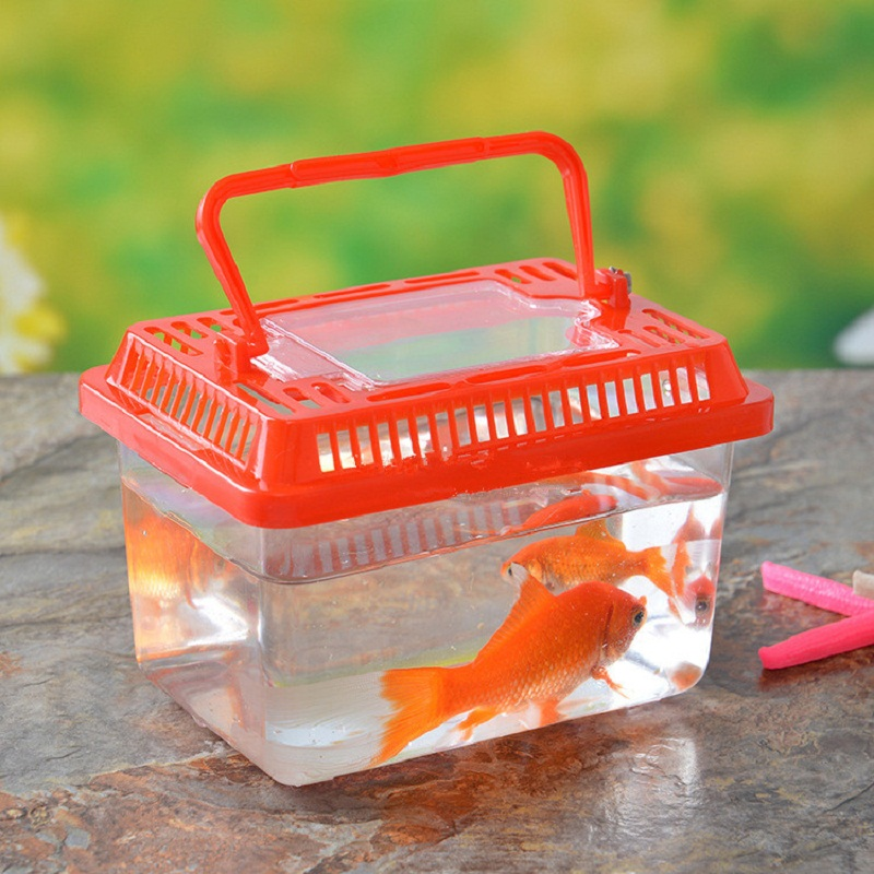Aquarium mini fish tank goldfish bowl turtle aquatic pet for Fish tank for hamster