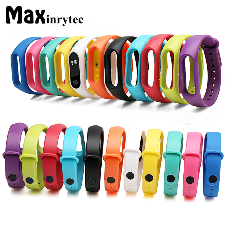 For Xiaomi Mi Band 2 Bracelet Silicone Strap Miband 2 Colorful Strap Wristband Replacement Smart Band Accessories For Mi Band 2 tearoke colorful silicone strap for xiaomi mi band miband 1 1s bracelet replacement wristband band accessories reemplazo pulsera