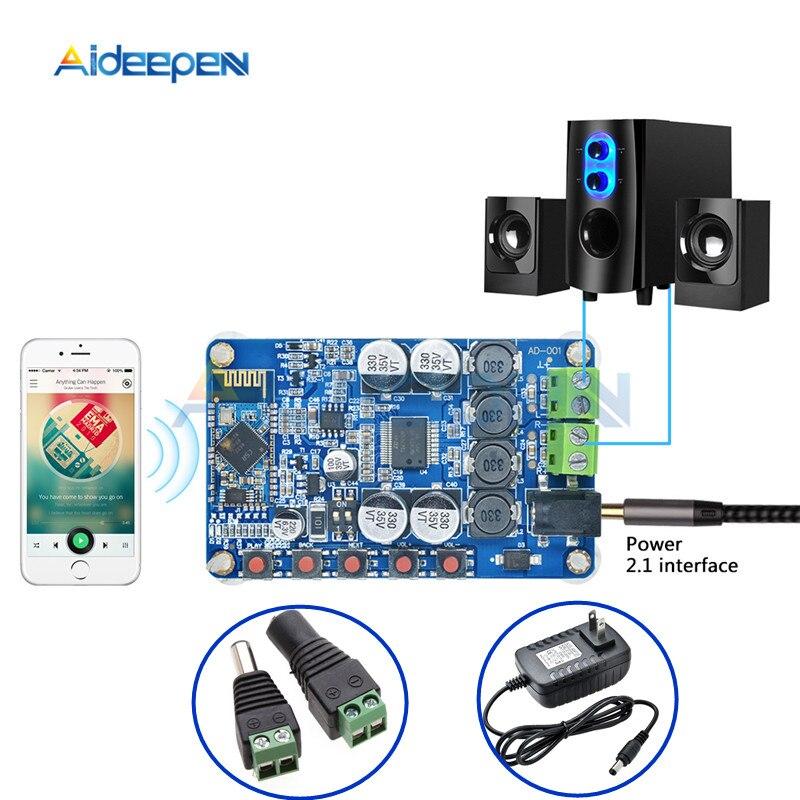 TDA7492P Stereo Amplifier Board Dual Channel Bluetooth Digital Power Module