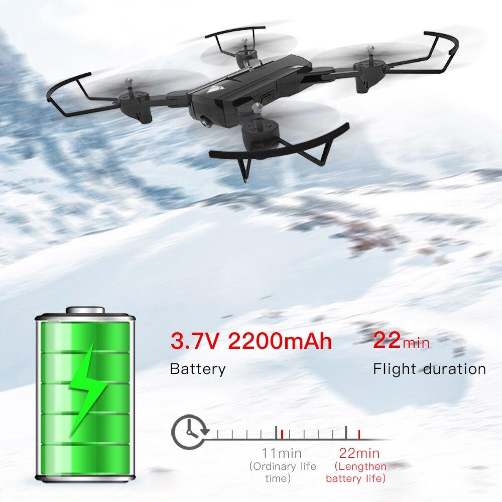 SG900 складной Профессиональный Дрон с двойной камерой 720P 4K селфи WiFi FPV широкоугольный оптический поток RC Квадрокоптер вертолет игрушки - 2