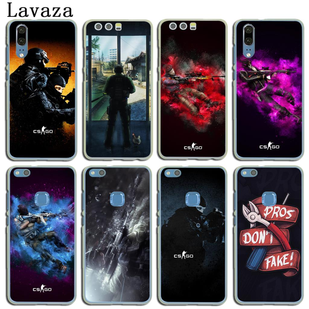 Bright Binful Cs Go Counter Strike Gun Strike Cover Case For Huawei P30 P20 Mate20 Pro P8 P9 P10 Mate10 Lite Mini 2017 Plus P Smart Hot Half-wrapped Case