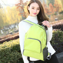 QIUYIN Folding Waterproof Backpack Student Bag Shoulder Travel Business Gift Custom