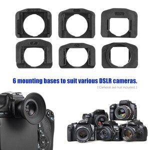 Image 3 - 1.51X Fixed Focus 6 wizjer góra podstawa okularu Eyecup lupa dla Canon Nikon Sony Pentax Olympus Fujifilm itp DSLR Camera