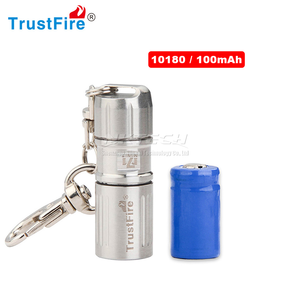 TrustFire MINI-07 XP-G2 LED Flashlight USB Lamp 4.2cm 23g Torch 10180 100mAh Li-ion Battery Keychain Lights 304 Stainless 3 Mode