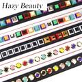 Hazy beauty spike brand design women handbag strap super chic lady shoulder bag stripe lovely girl bag belt gold clasp SS147