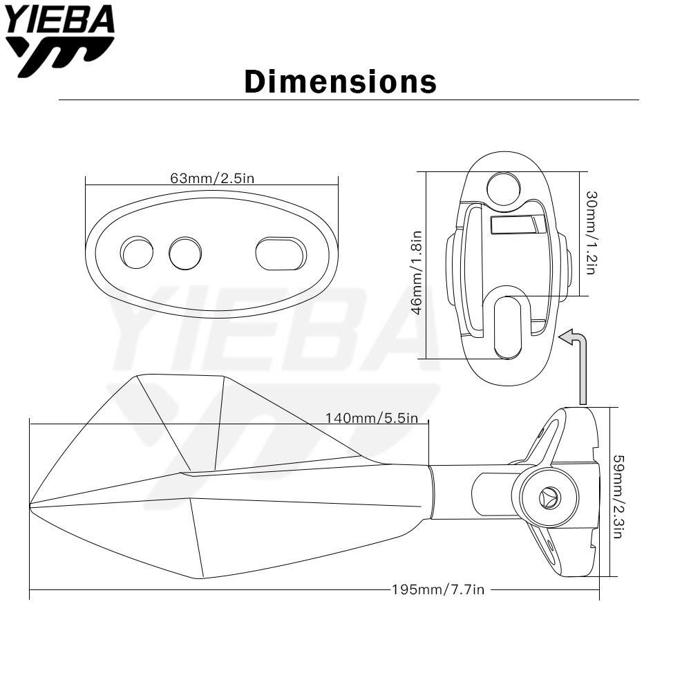 Motorcycle Rear View Mirrors Side Mirror For Honda Vtx1300 Cbr600 Nsr 250 Wiring Diagram F4i Cbrf4i Sport F Nsr250 Mc18 Mc21 Mc22 Mc19 Cbr250 Cbr1000rr In
